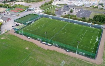 lakewood afc aerial view of football pitches