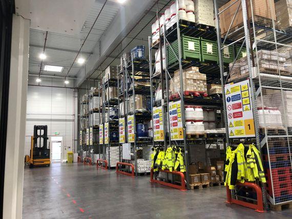 gilead warehouse