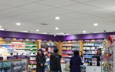 inside of pharmacy