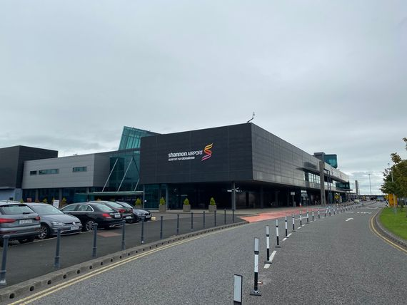 outside of shannon airport