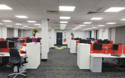 office interior - wood plc