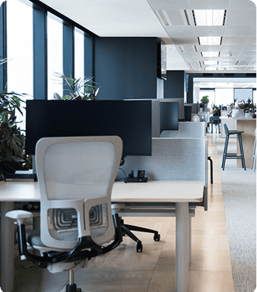open space office environment