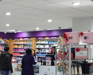 retail lighting - pharmacy